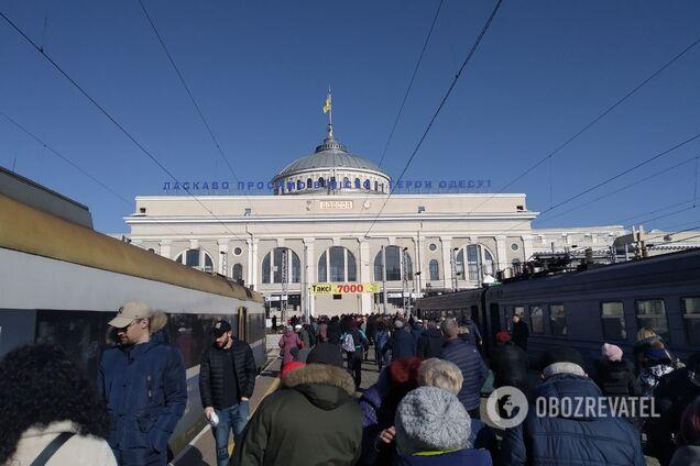 В Одесі злодії влаштували НП на залізниці