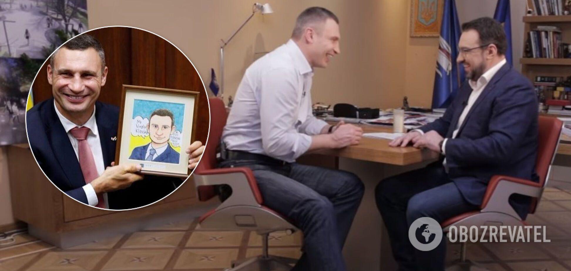 О Зеленском, Порошенко, поездке в США и мостах: откровенное интервью Кличко
