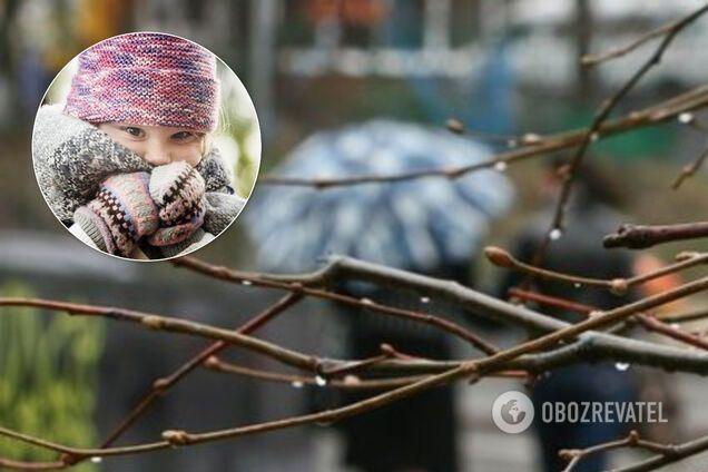 С 15 марта в Украине похолодает