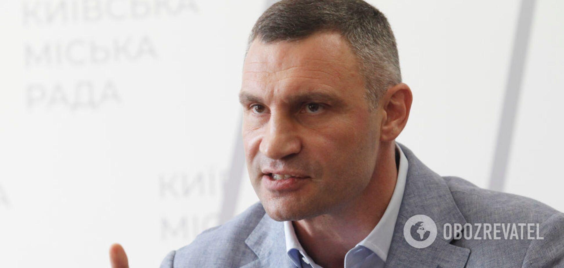 Кличко рассказал, как он удержался в кресле мэра Киева