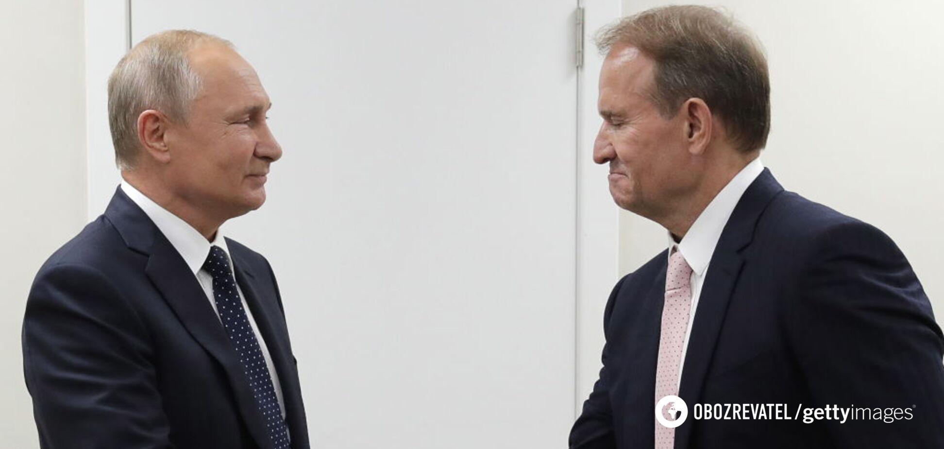 Встреча Медведчука и Путина в Москве: в Раде ответили на выходку нардепа
