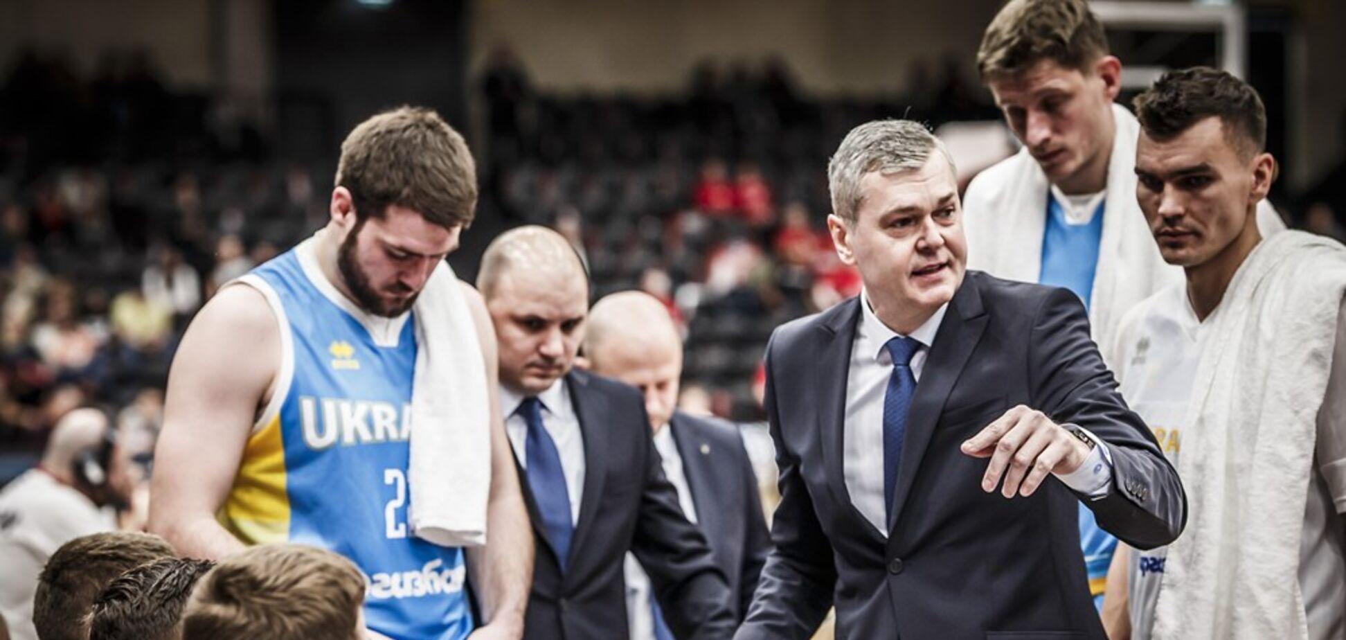 Европейские смотрины баскетбольной сборной Украины