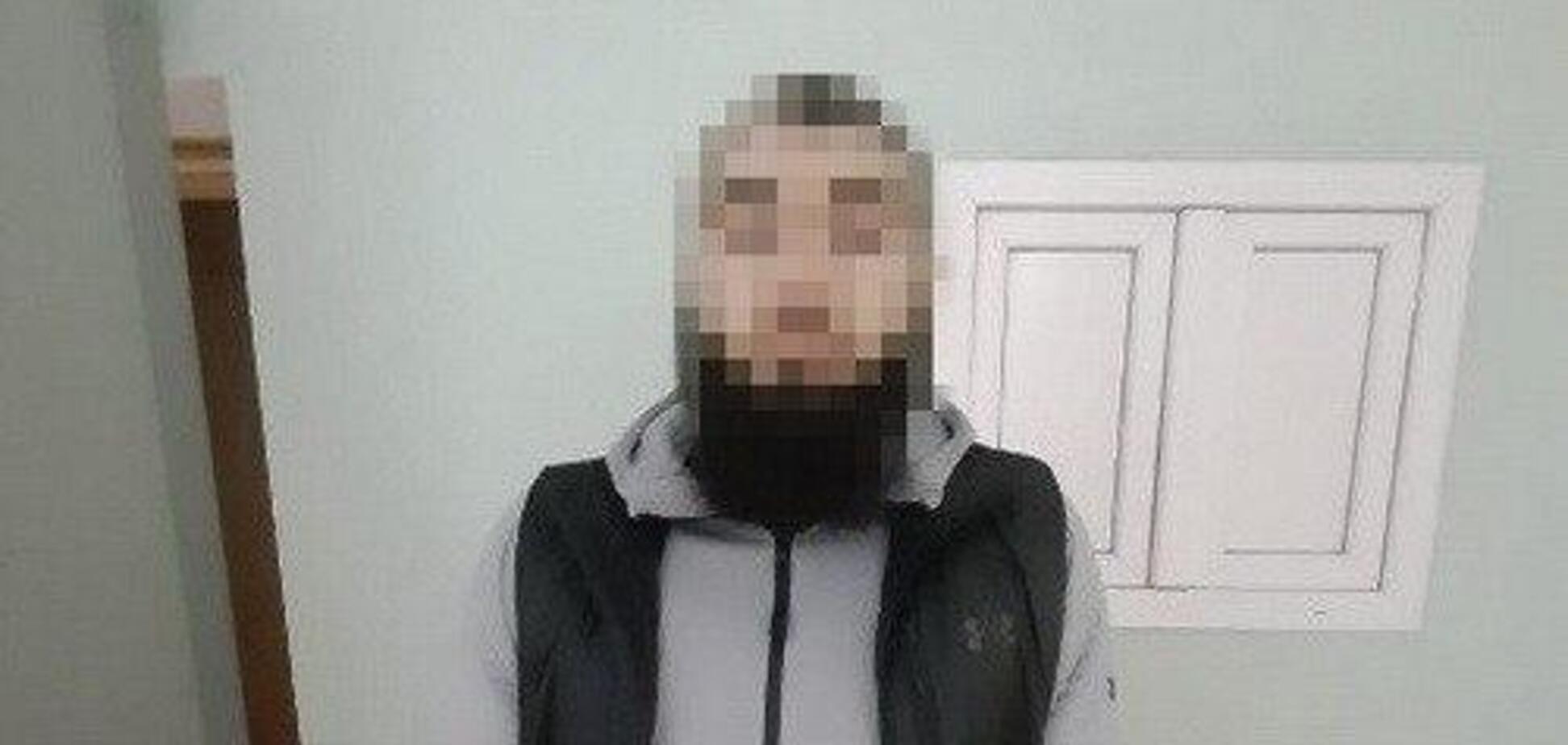 У Києві затримано бойовика ІДІЛ. Фото