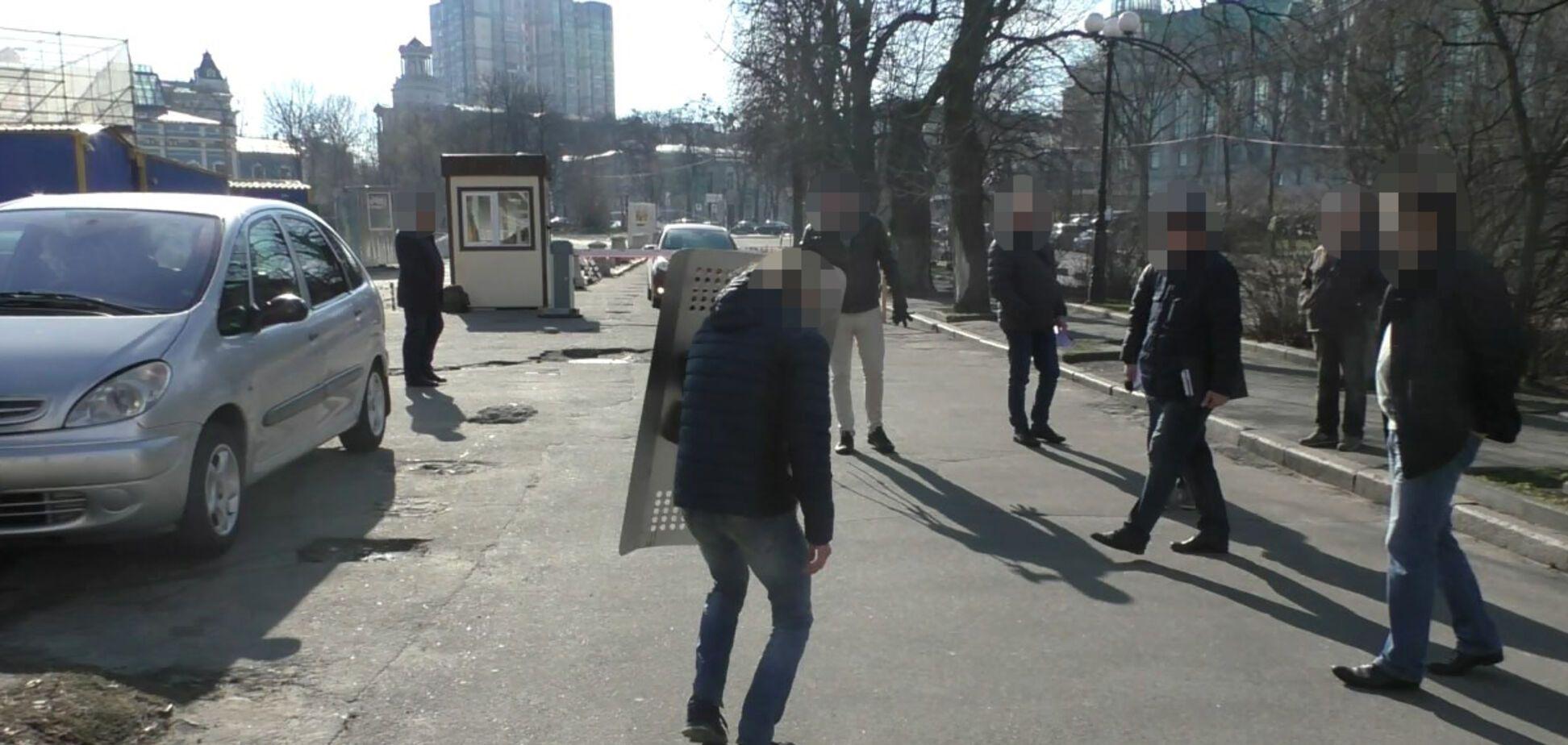 Следственный эксперимент в Киеве по делу Майдана