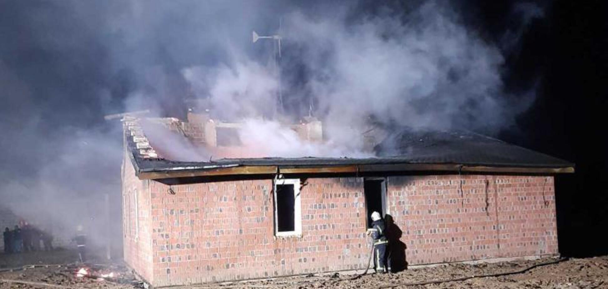 Під Києвом у пожежі загинуло двоє чоловіків