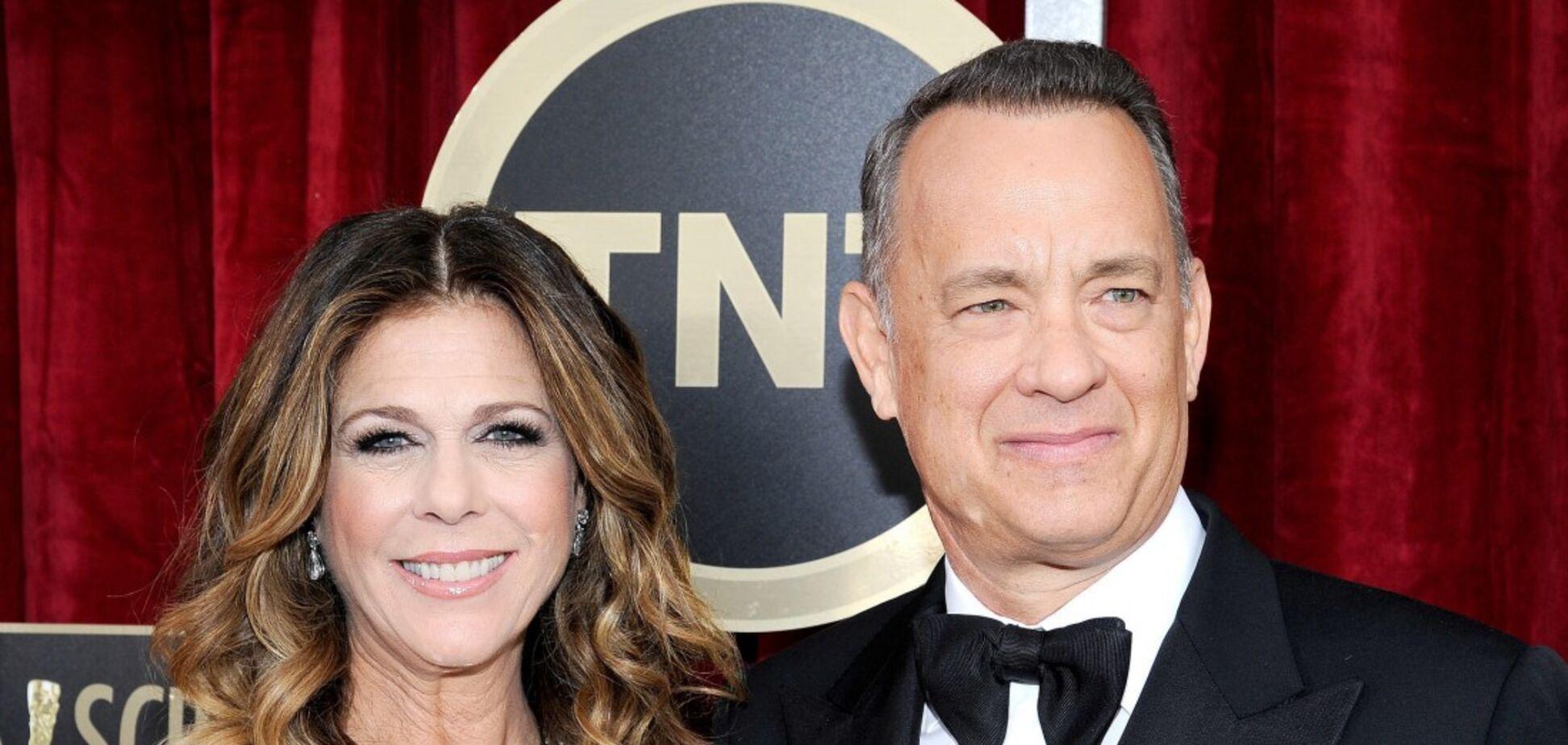 Том Генкс із дружиною заразилися коронавірусом