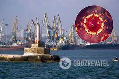 В Бердянском порту у пассажиров судна заподозрили коронавирус