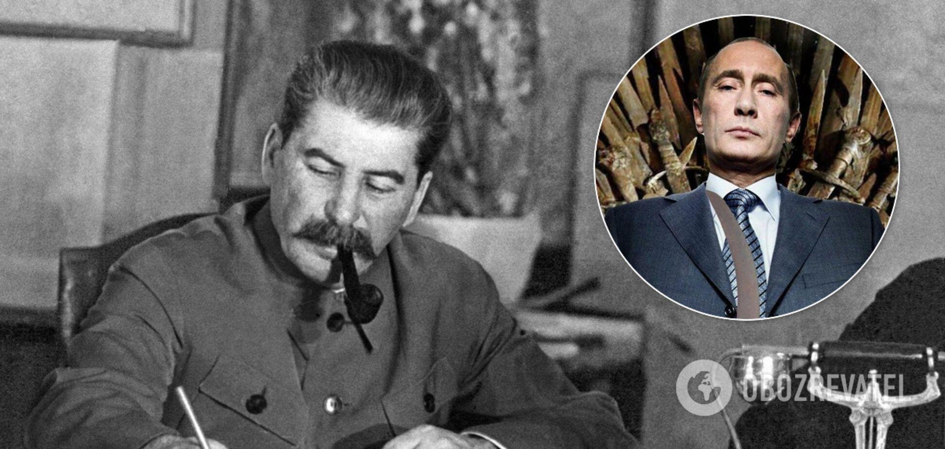 Путин повторяет путь Сталина, 1937-й стучится в дверь