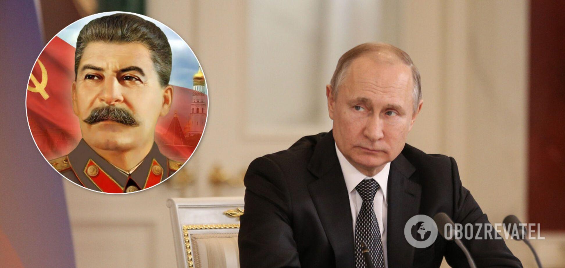 Путин по примеру Сталина начнет массовые репрессии – оппозиционер