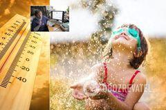 Украину разжарит до рекордных температур: метеоролог испугала прогнозом