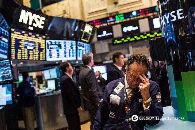 Вперше з 1987 року: біржі США закрилися рекордним падінням