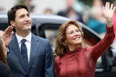 У жены премьера Канады Трюдо обнаружен коронавирус