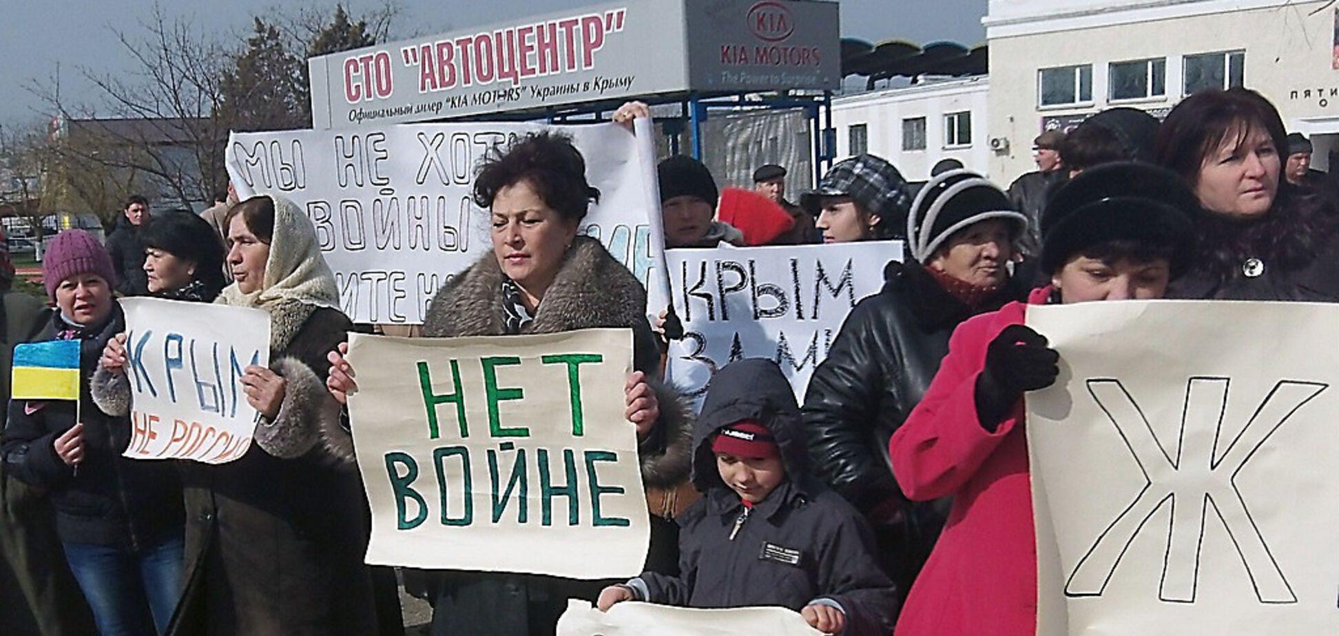 Росія привласнила Крим сім років тому: як проходив псевдореферендум