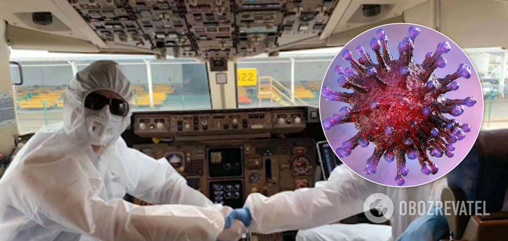 Самолет из Милана и коронавирус: врач заявила, что оснований для паники нет
