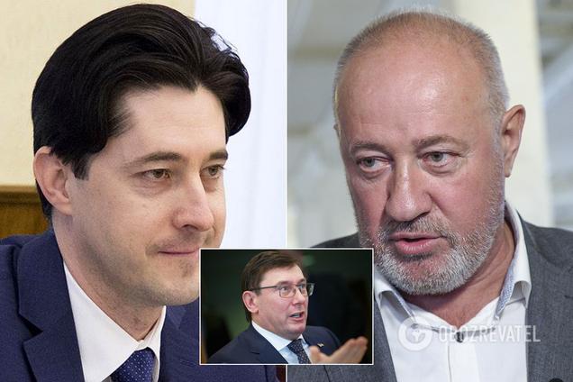 Виталий Касько, Виктор Чумак и Юрий Луценко