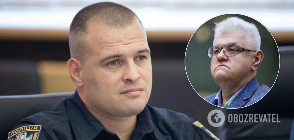 Сивохо назвав війну на Донбасі внутрішнім конфліктом: у Нацполіції жорстко відповіли