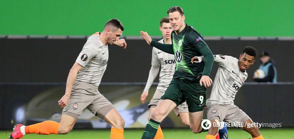 'Шахтер' – 'Вольфсбург': букмекеры назвали фаворита ответного матча 1/8 финала ЛЕ