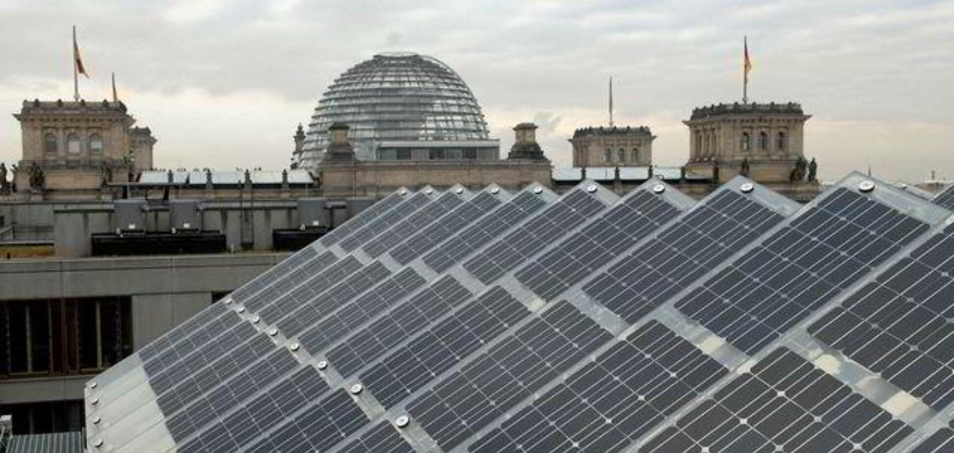 На крышах Берлина установят мощные солнечные электростанции