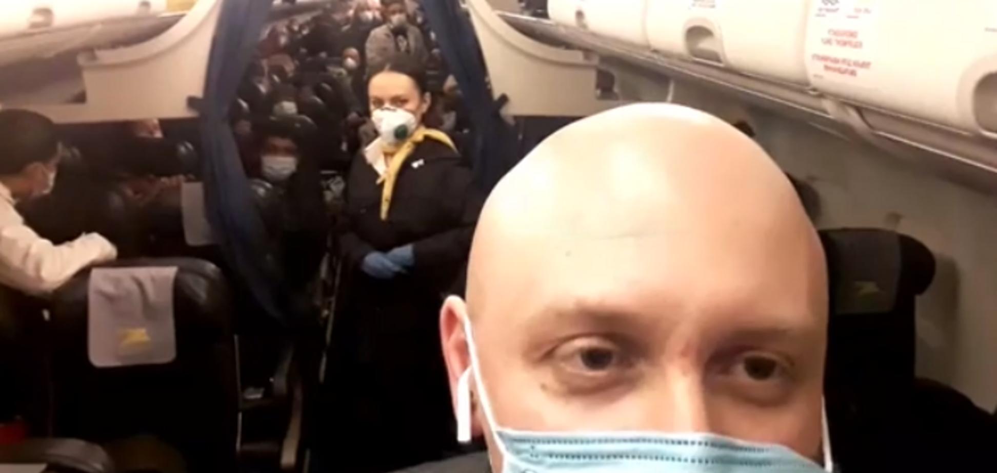 Появились новые детали о рейсе Милан – Киев