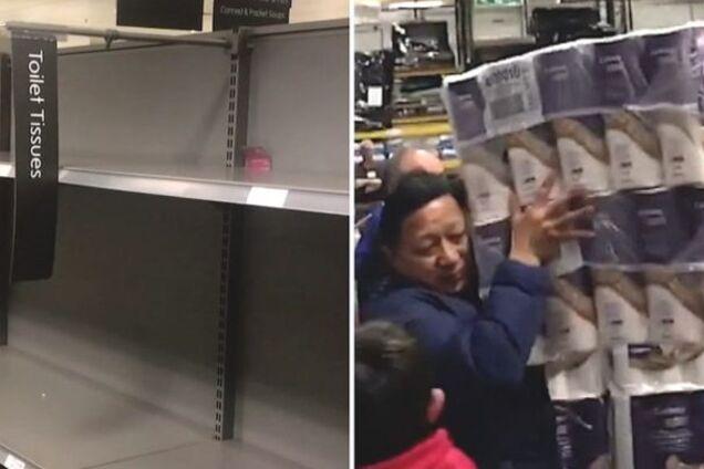 Дефицит в супермаркете