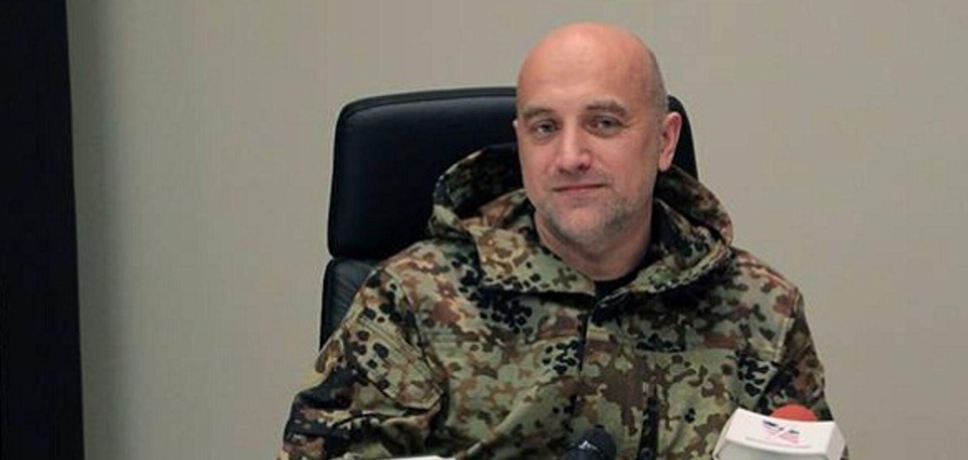 Прилепин пригрозил высадкой спецназа Путина в Киеве