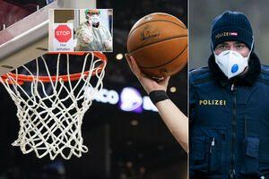 Вслед за Украиной: в Европе массово останавливают баскетбольные турниры