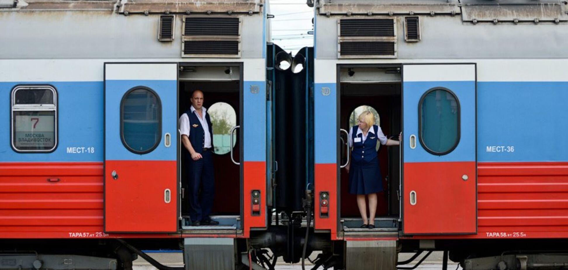 Росія скасувала всі потяги в Україну і Молдову через коронавірус