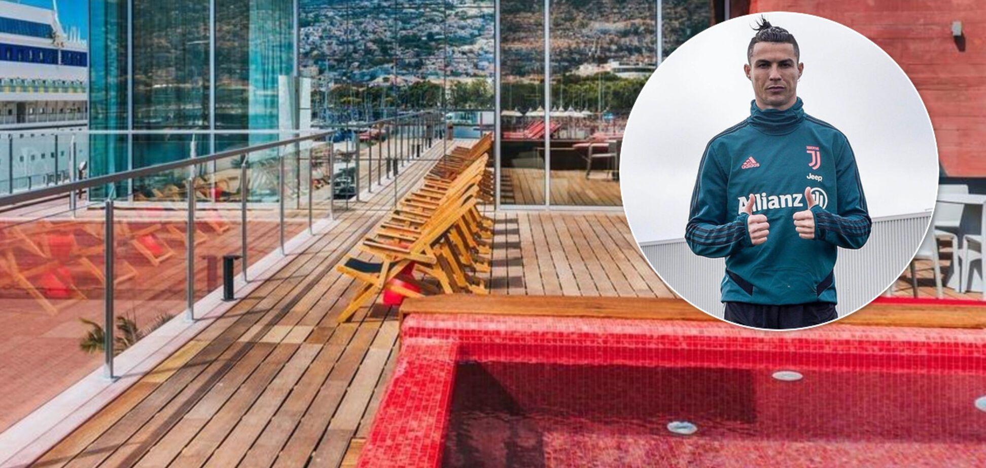 Роналду переделает все свои отели под больницы из-за коронавируса