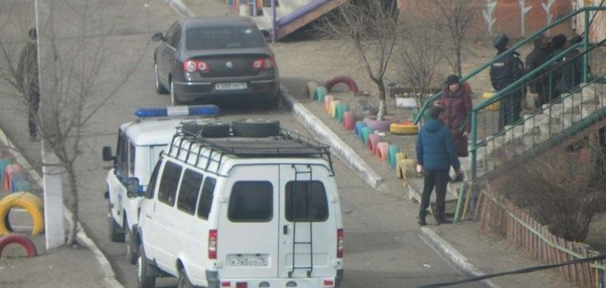 У Читі вертоліт вистрілив по житловому будинку