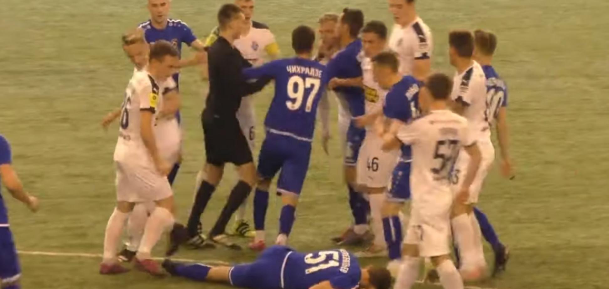 В России футбольный матч завершился массовой дракой