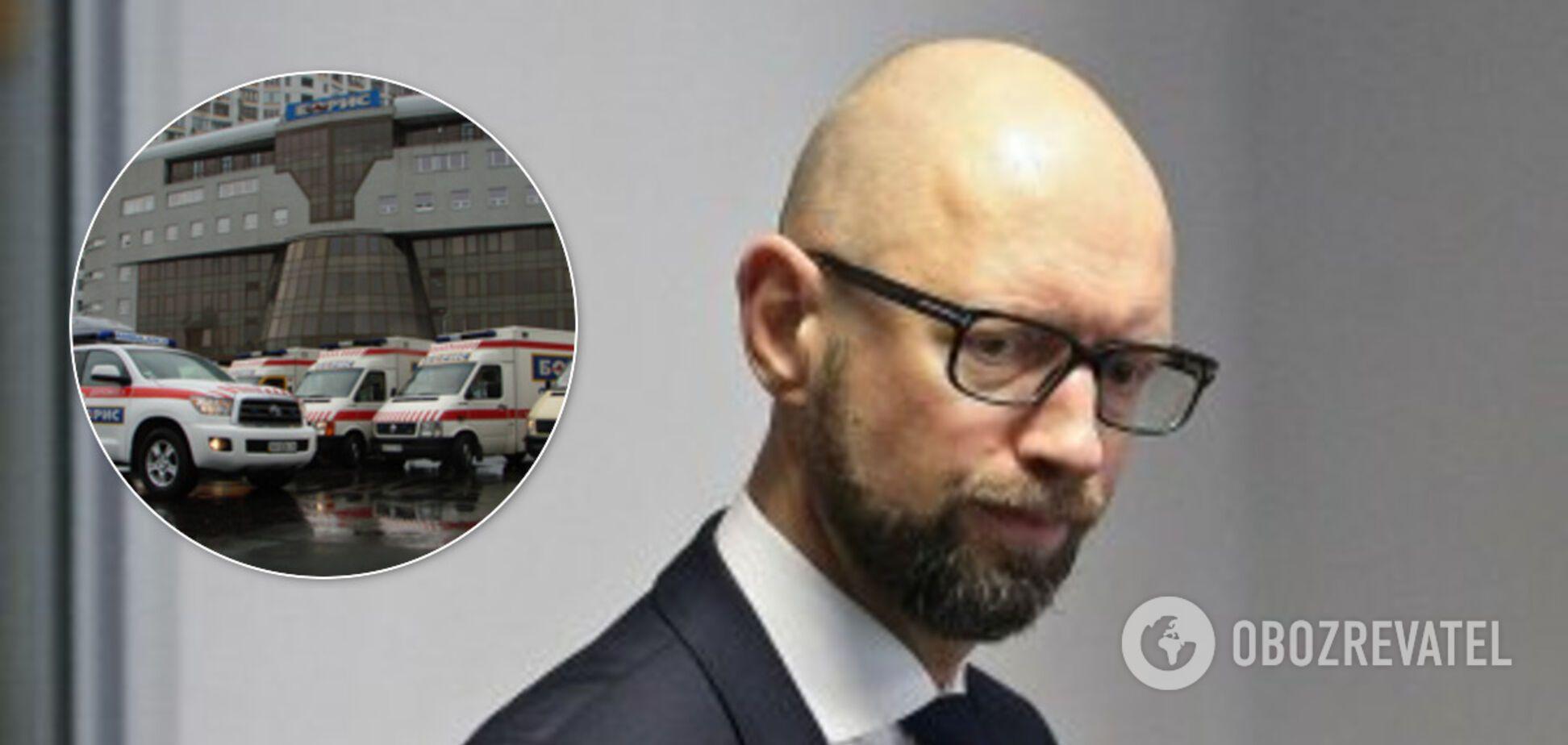 Яценюк попал в больницу: стал известен вероятный диагноз