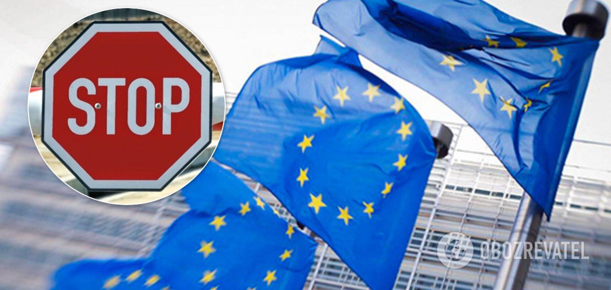 ЄС закрив кордони через коронавируса