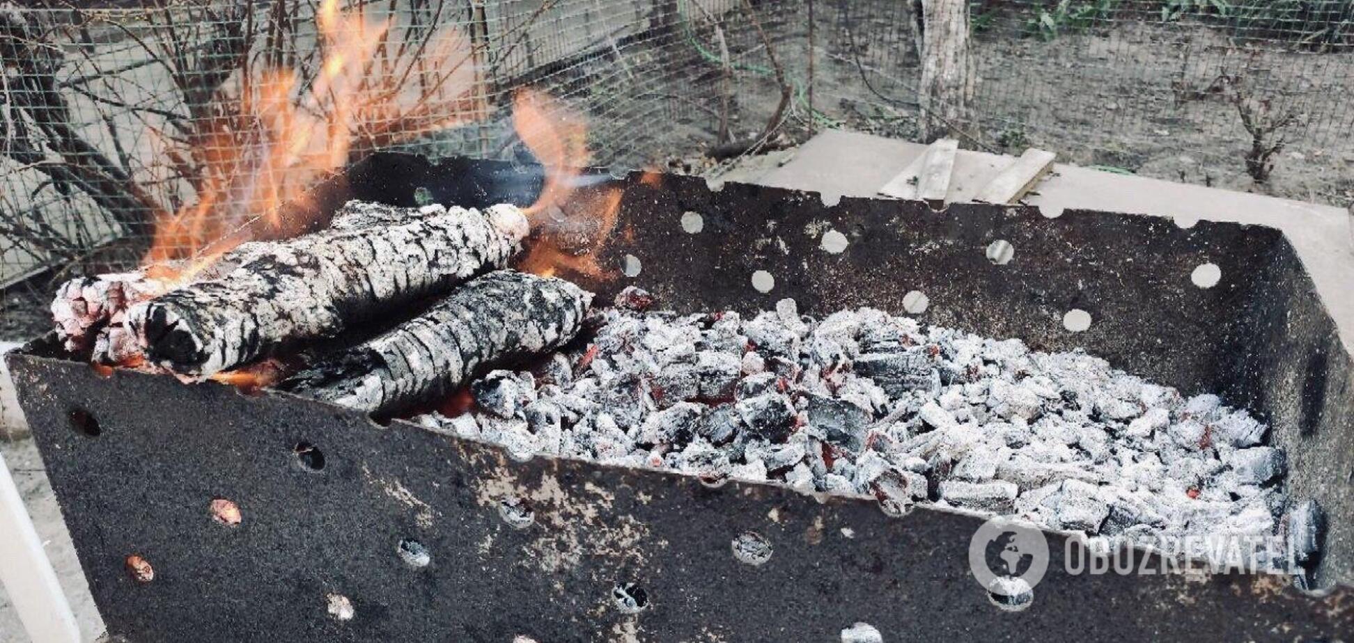 Сезон шашлыков во дворах многоэтажек: почему днепряне против