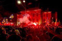 РФ відправила Україні ноту протесту через акцію ветеранів війни під посольством