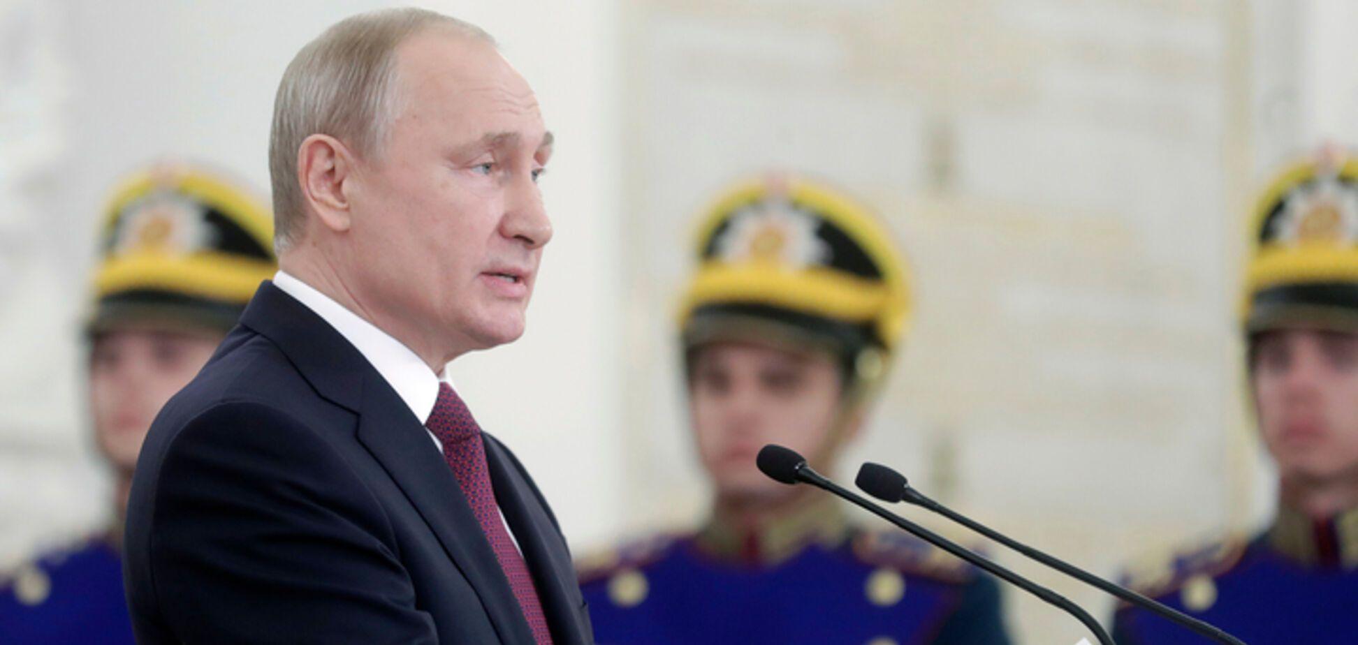 'За' пожизненного Путина