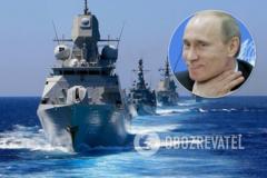 Россия 'атакует' корабли НАТО в Черном море