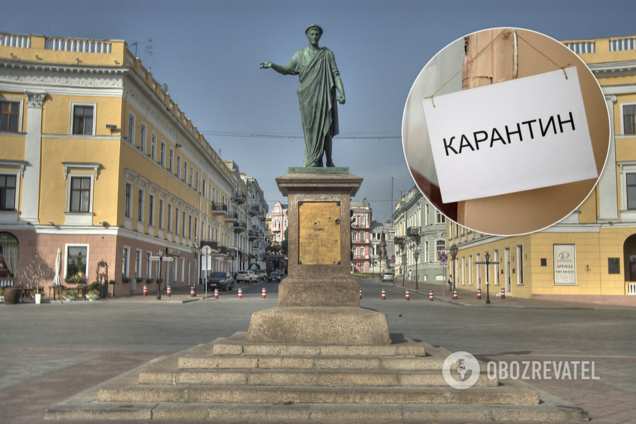 В Одессе закрыли на карантин все, кроме аптек и магазинов