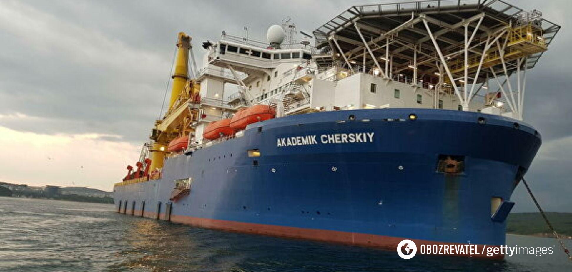Найпотужніший трубоукладач 'Північного потоку-2' вийшов у море