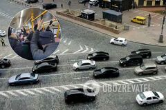 На дорогах Киева коллапс из-за карантина: автобусы переполнены