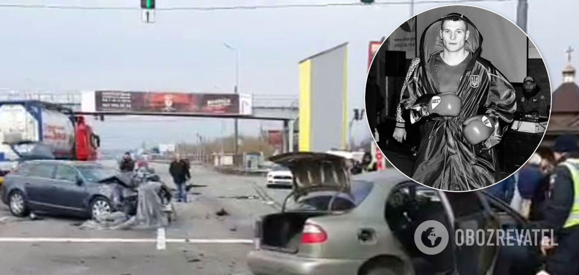 Український боксер Дмитро Лісовий загинув у ДТП під Києвом