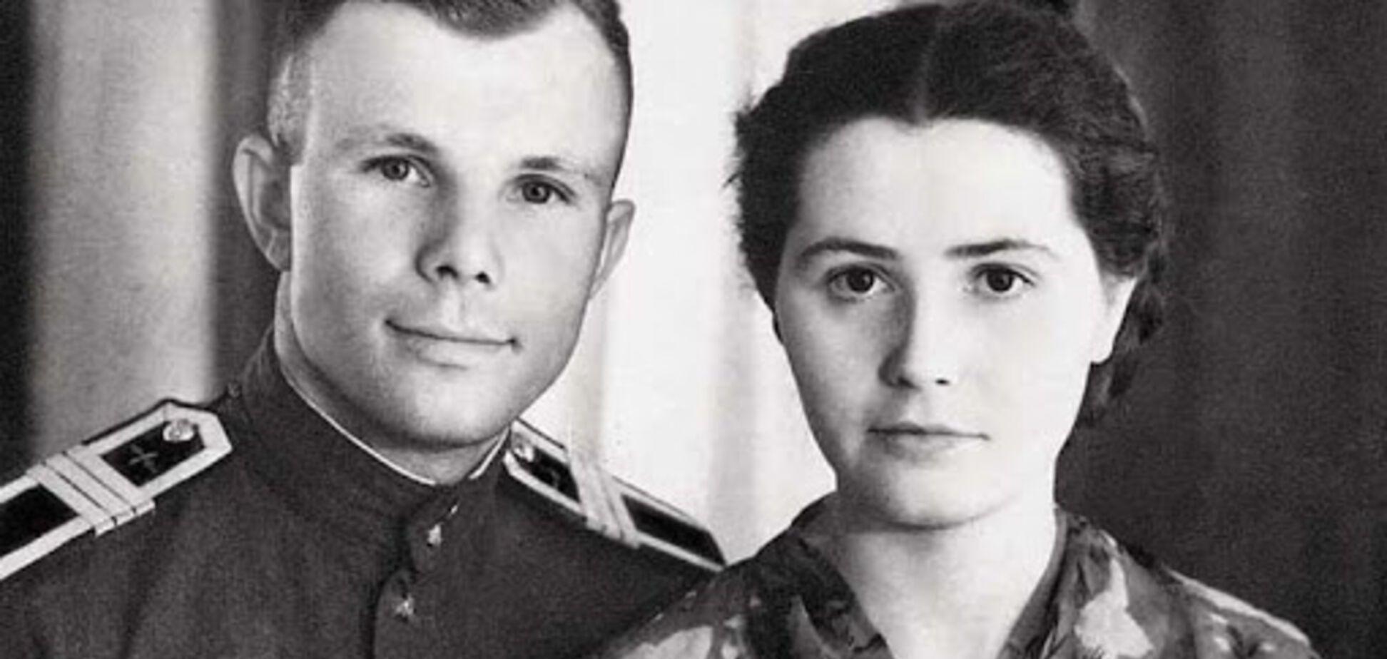 Померла вдова Юрія Гагаріна