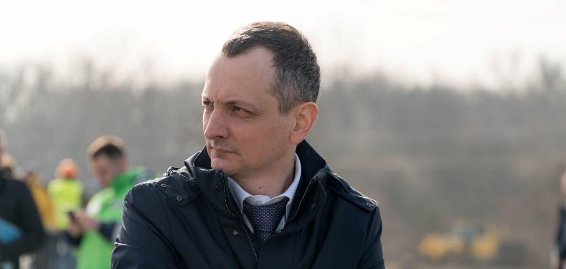 Голик розповів про цілодобове будівництво траси Дніпро-Решетилівка