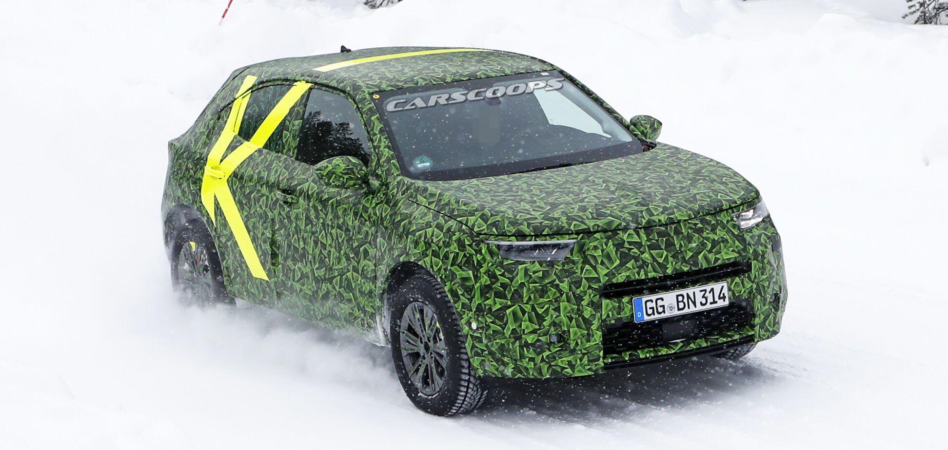 Opel готовит недорогой электрический кроссовер