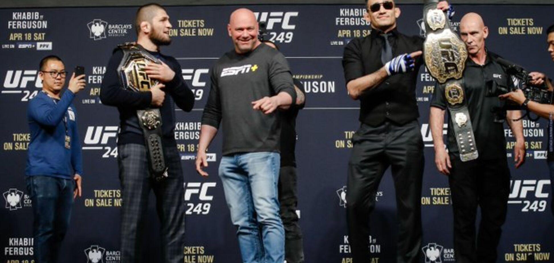 Коронавирус: UFC официально отменил бой Хабиб - Фергюсон