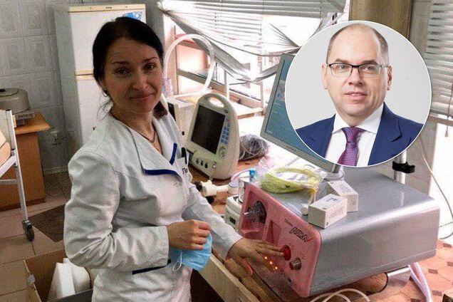Максим Степанов закупив для Одеської інфекційної лікарні апарат ШВЛ