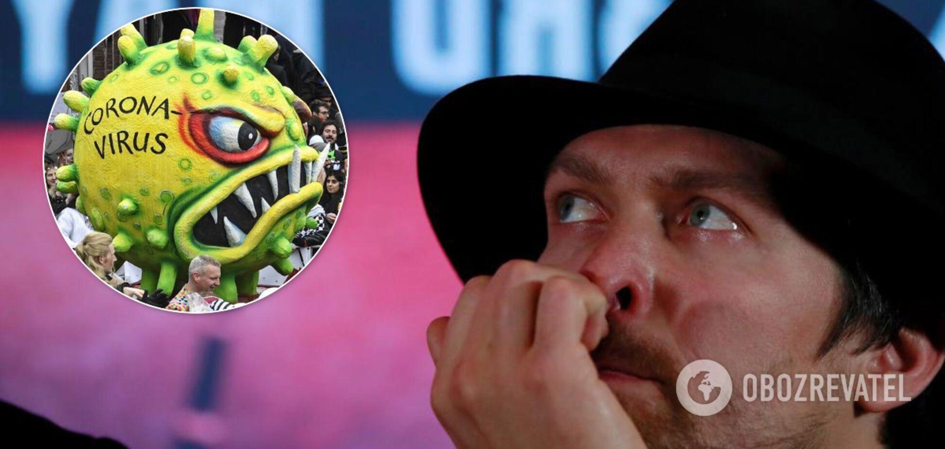 'Пейте воду из-под крана': Усик сказал, как не заболеть коронавирусом