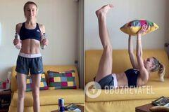 Левченко выложила видео из спальни, показав, чем занимается на карантине