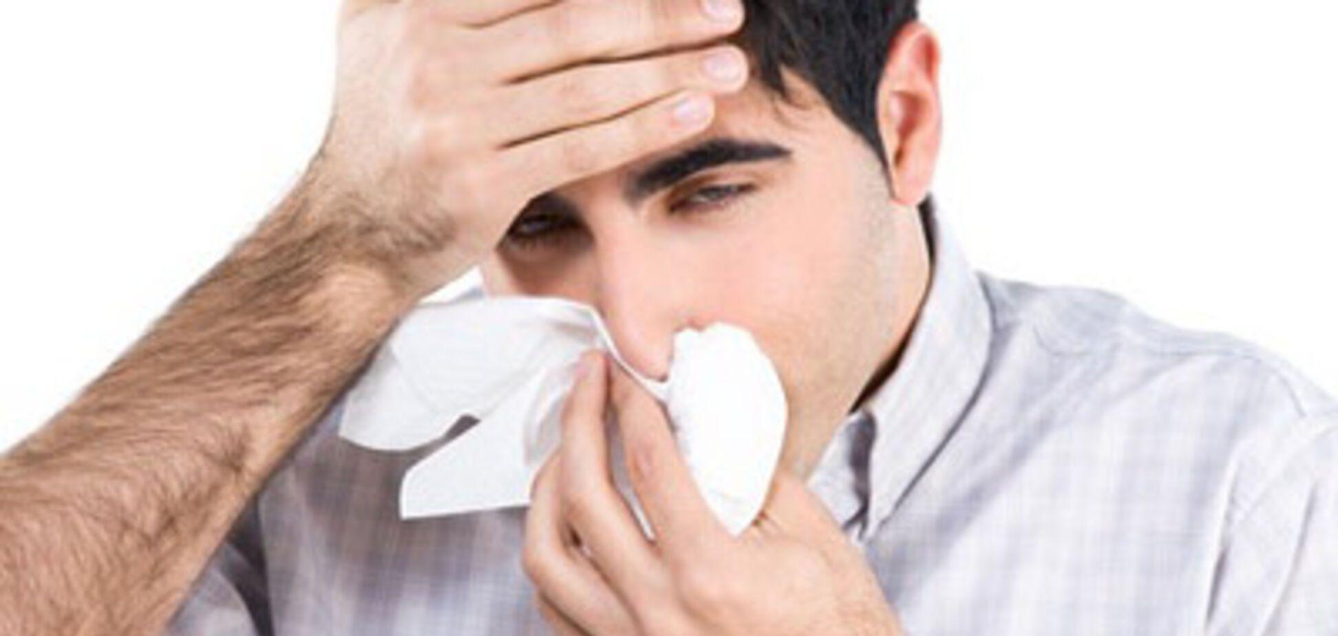 Точечный массаж от аллергии и насморка