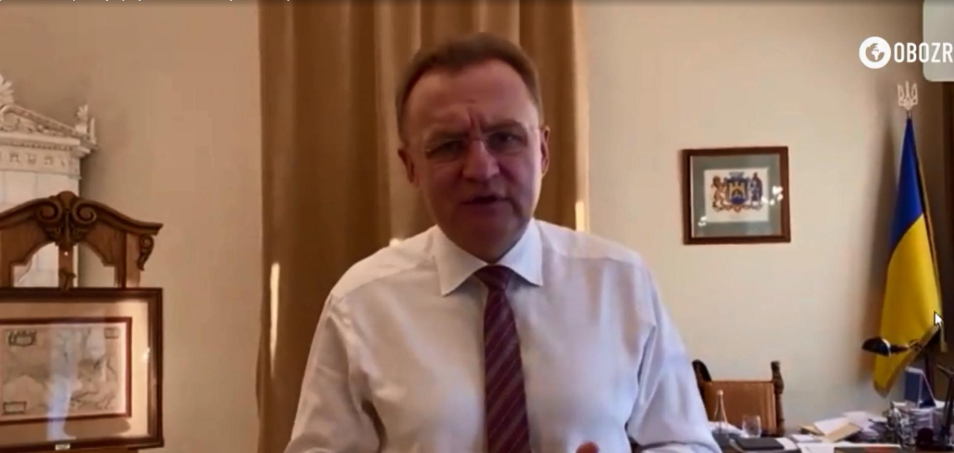 Коронавирус во Львове: Садовый рассказал, как живет город на карантине