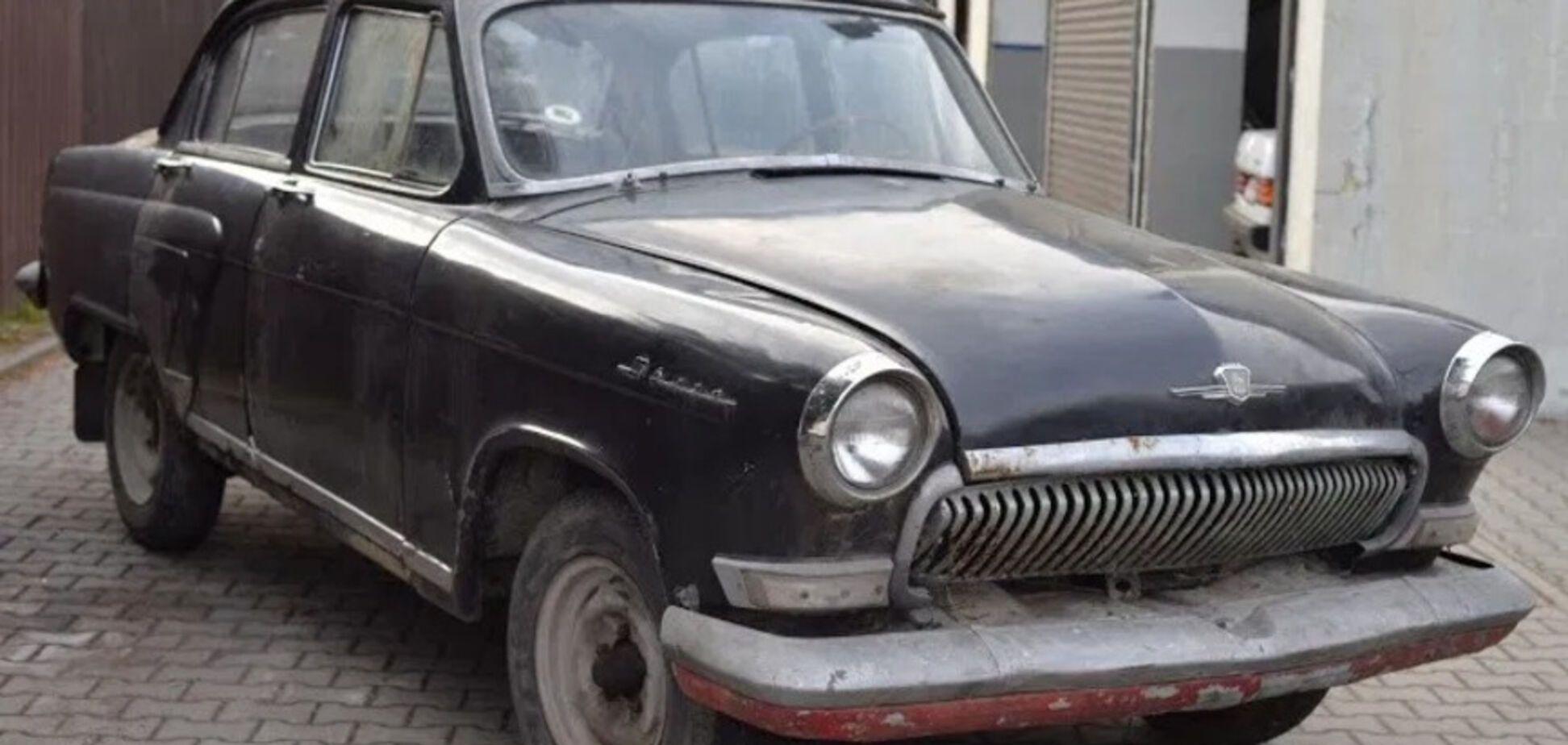Іржава ГАЗ Волга виявилася ексклюзивним авто для Європи